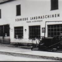 3. Schmiede 1960 es gab schon damals Ölwechsel  und Abschleppdienst