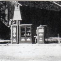 neue Tankstelle 1960