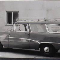 1962 Anschaffung von Firmenkombi Opel Caravan gebraucht