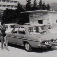 Mit dem Wirtschaftsaufschwung 1968 kam der erste Mercedes 220 Automatik ins Haus