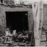 Abriss der ersten Werkstätte 1978