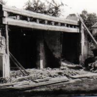 Abriss altes Wohnhaus