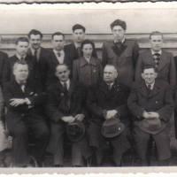 Franz bei Meisterprüfung Huf und Wagenschmied 1950