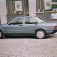 1987 musste mal wieder ein neuer Mercedes her.
