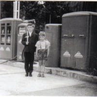 1961 Schaut nach Erstkommunion  aus Franz und Karl